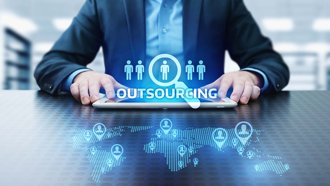 which business functions to outsource